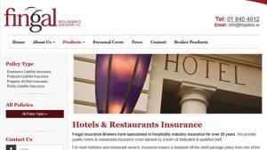 online insurance website development