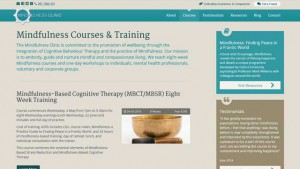 mindfulness training ireland website