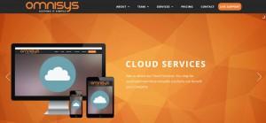 omnisys IT support website by whitespider ireland