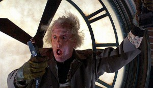 seo experiments seo moz rand fishkin mad scientist doc brown clock tower white spider