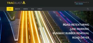 bootstrap developer road marking website