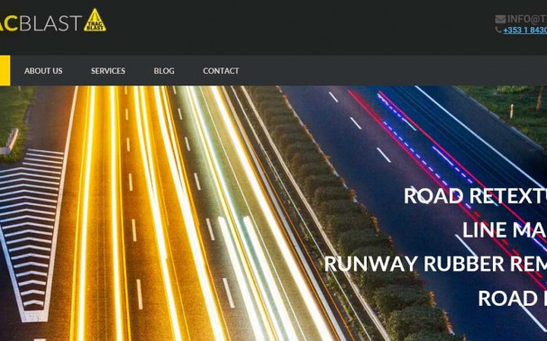 bootstrap developer road marking website